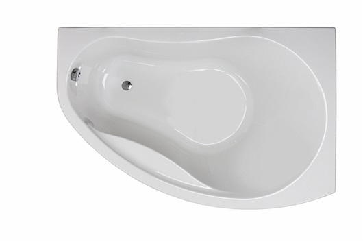Ванна угловая асимметричная правая+панель+ножки PROMISE 1500х1000 Kolo