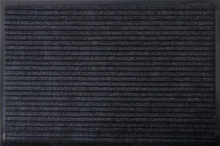 Коврик влаговпитывающий, ребристый Юнион Трейд Стандарт 40х60 см черный