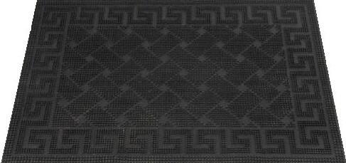 Резиновый коврик 40х60 см. DRP 213 Кирпичи (Brick pin mat) CleanWill