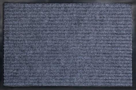 Коврик влаговпитывающий, ребристый Юнион Трейд Стандарт 40х60 см серый