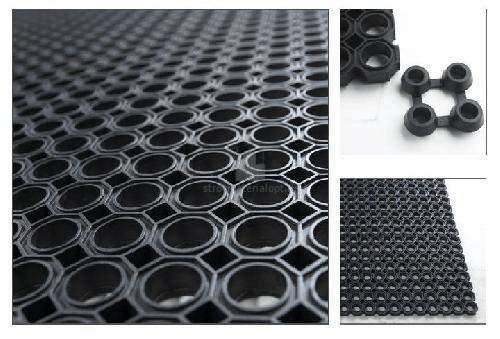 Ячеистый резиновый коврик 40х60 см - 16 мм CleanWill