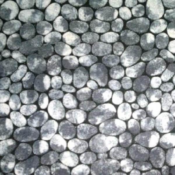 Флокированный резиновый коврик T-064 45х75 см CleanWill