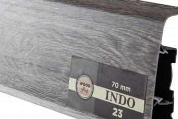 Плинтус пластиковый Arbiton (Арбитон) Indo Дуб Модена 23