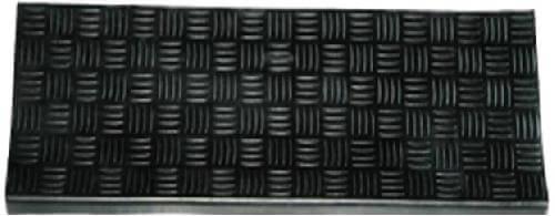 Накладки на ступени 25х75 см. DRS 0618B (Stair mat aluminium) CleanWill