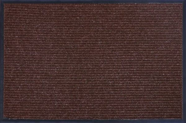Коврик влаговпитывающий, ребристый Юнион Трейд Стандарт 60х90 см коричневый