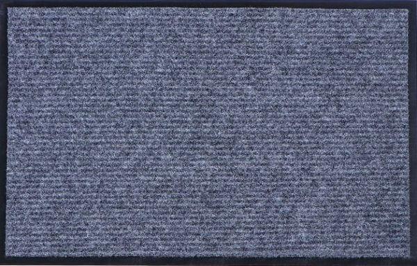 Коврик влаговпитывающий, ребристый Юнион Трейд Стандарт 60х90 см серый