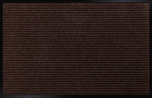Коврик влаговпитывающий 2-х полосный БалтТурф (Double stripe doormat) 80х120 см коричневый