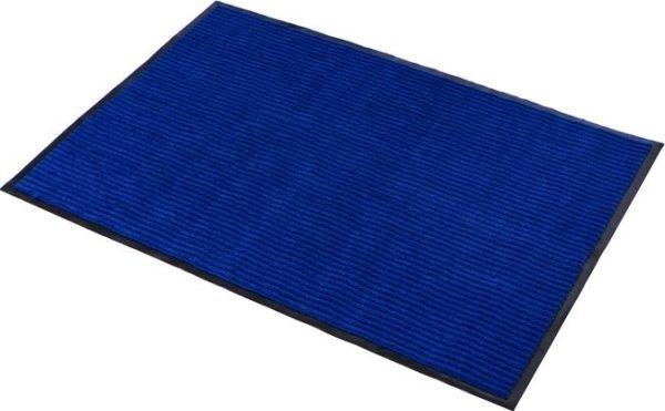 Коврик влаговпитывающий 2-х полосный БалтТурф (Double stripe doormat) 40х60 см синий