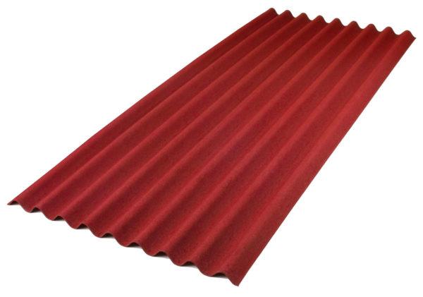 Ондулин Onduline Красный 0.95 м х 2 м