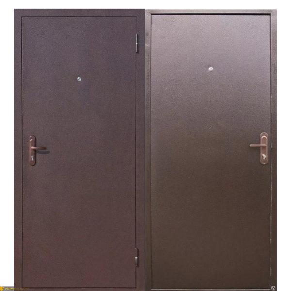 Дверь входная металлическая 5 см Стройгост 5 РФ Медный антик левая 860х2050 мм Цитадель