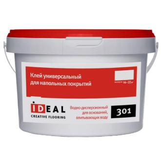 Клей Ideal 301 универсальный для напольных покрытий 4,0 кг