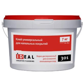 Клей Ideal 301 универсальный для напольных покрытий 7.0кг