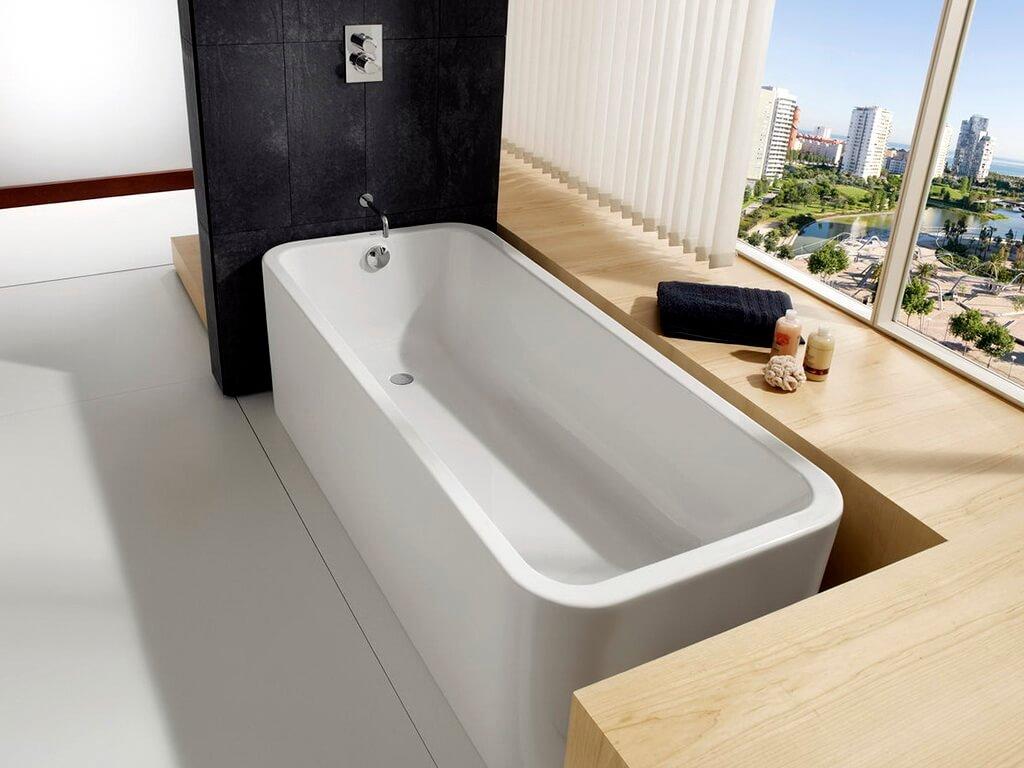 Чем очистить акриловую ванну в домашних условиях?