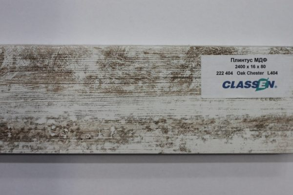 Плинтус МДФ Classen Prestige 80 Дуб Честер 222404