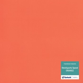 Линолеум Tarkett Omnisports R35 Orange рулон 2x20,5м (41м2)