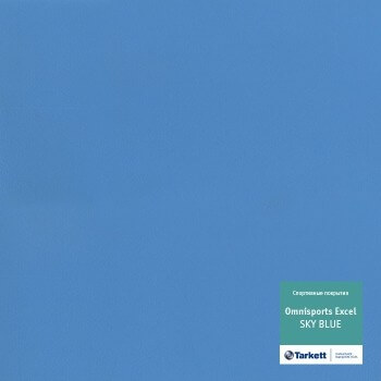 Линолеум Tarkett Omnisports R83 Sky Blue рулон 2x20,5м (41м2)