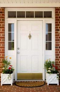 цвет входной двери