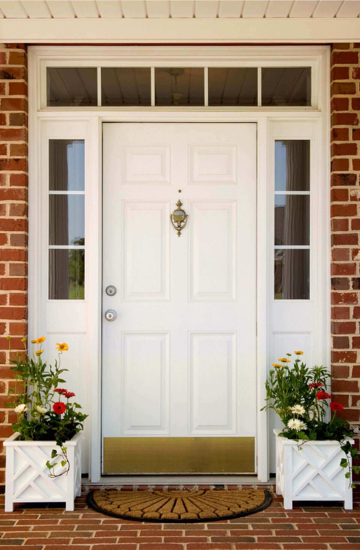 Какой цвет выбрать для входной двери?